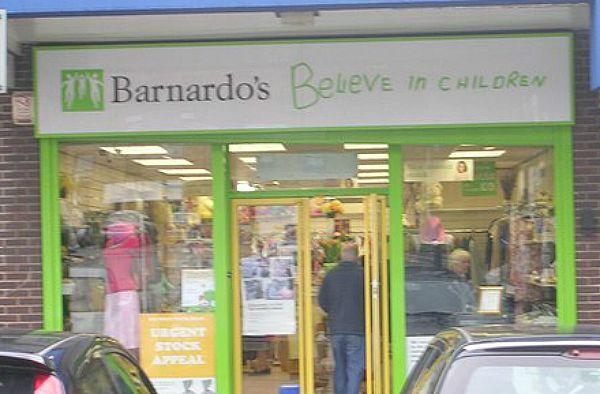 Barnardo's shop front