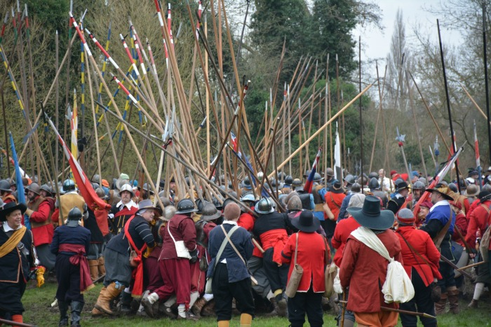 Holly Holy Day - Battle of Nantwich 2016 on Mill Island