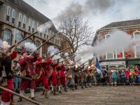 "PICTURE SPECIAL: Thousands pack Nantwich town centre for Holly Holy Day ""Battle of Nantwich"""
