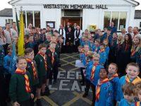 Wistaston Remembrance event raises £350 for Royal British Legion