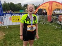 Nantwich woman completes Olympic triathlon in aid of Scout group