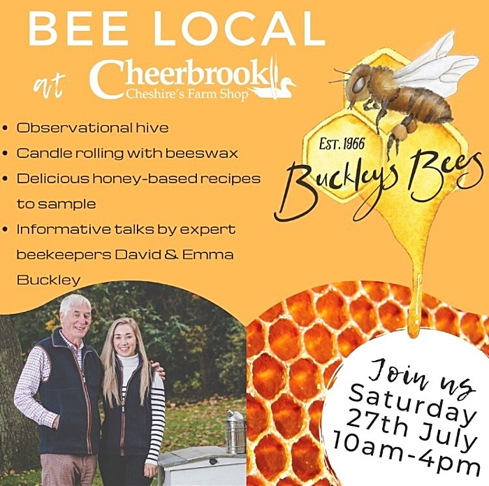 Bees Local flyer
