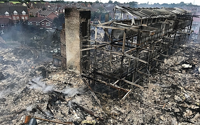 Beechmere Aftermath - building regulations