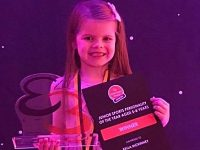 Nantwich youngster Bella scoops Everybody Junior award