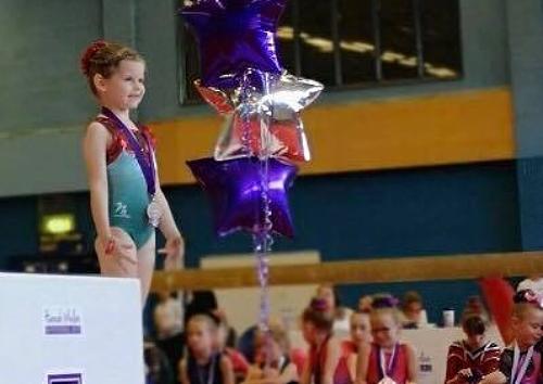 Bella in third place - gymnastics
