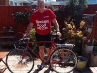 Crewe fundraiser pedals 300 miles in aid of Blood Cancer UK