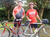 South Cheshire friends cycle 850-mile Rhine for Bloodwise