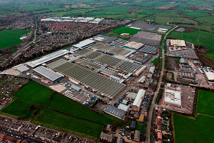 Bentley Motors - bentley-motors-aerial-view-of-current-site