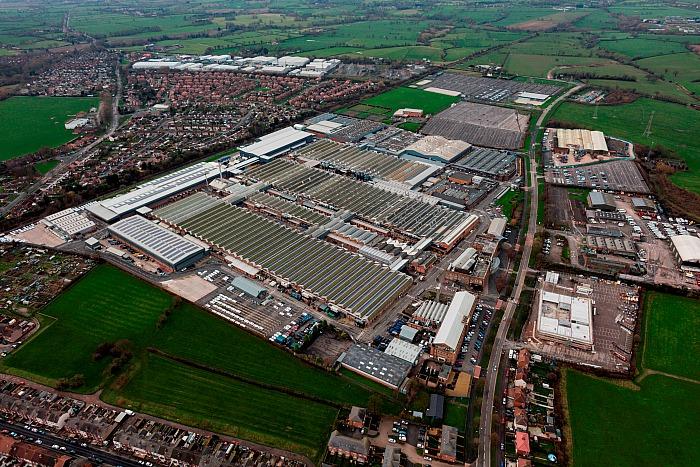 Bentley Motors - bentley-motors-aerial-view-of-current-site