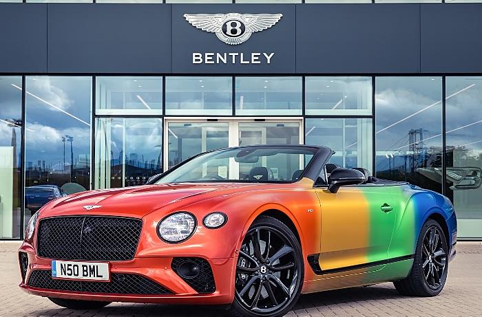 Bentley - Rainbow GT-001 - Virtual Pride partners