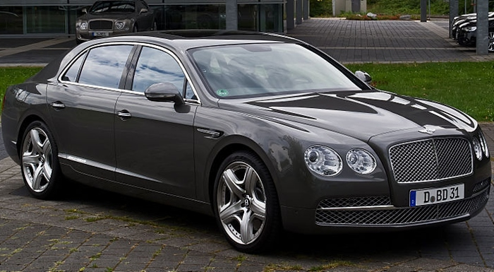 Bentley - similar to one used by Cheshire East Mayor