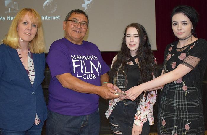 media students win Best Short Film winners at Nantwich Film Festival