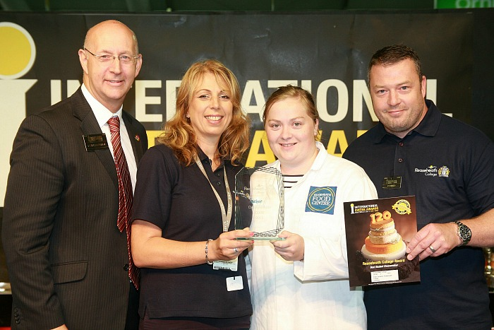 Best Student Cheesemaker to Charlotte Gaskell, Phil Halliwell, from Ian Luxton and Stephanie Owen