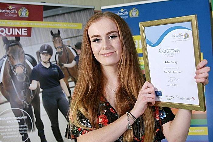 Best equine apprentice Kelsie Heafey (1)