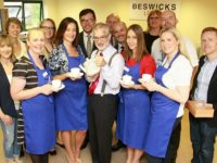 Solicitors in Nantwich serve up coffee for St Luke's Hospice