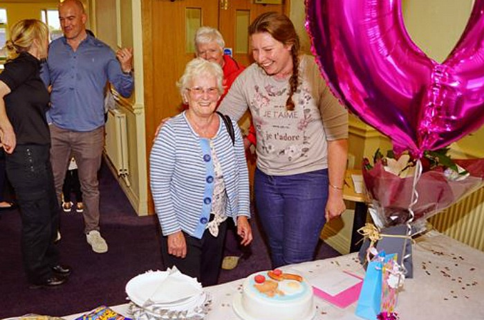Betty - Nantwich Police celebration