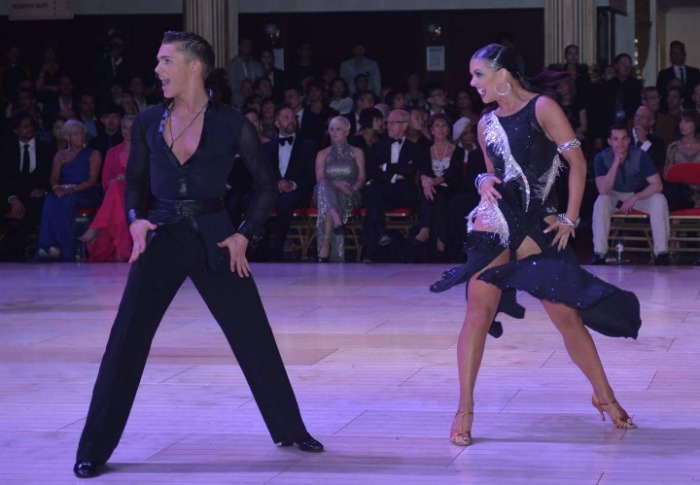 Blackpool Under 21's Latin, AJ and Chloe, now to star on BBC Strictly