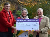 Wych Malbank Lodge raises £800 at Wybunbury event for Bloodwise
