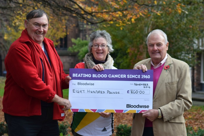 Masonic Lodge - bloodwise-south-cheshire-receive-fund-raising-cheque