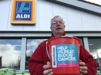 Aldi bucket collection in Nantwich raises £540 for Bloodwise