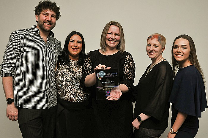 Bloom of Nantwich wins Best Sandwich Shop