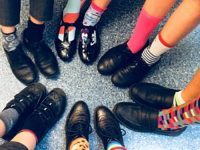 St Anne's Primary in Nantwich run Odd Socks Day in anti-bullying week