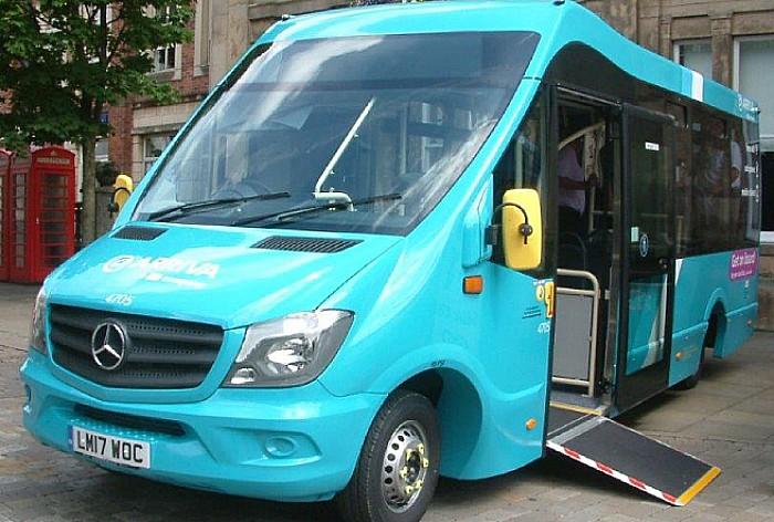 Blue bus, CEC bus services cuts