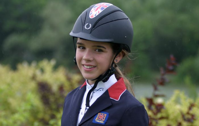 Bobbie Heath, 14, to ride for Great Britain