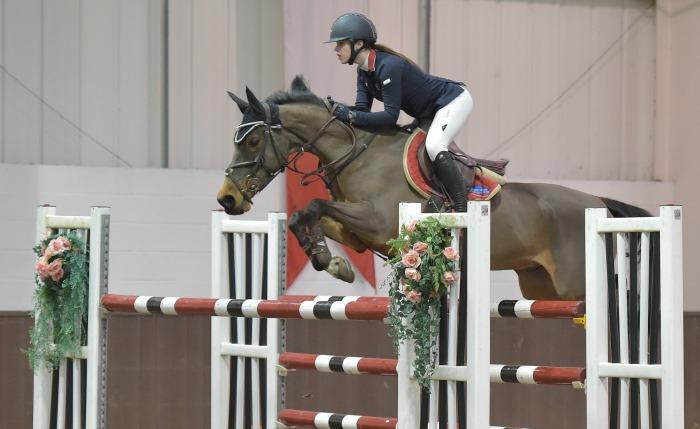 Bobbie Heath & Cisco Bay II - Addington Manor Equestrian Centre (Credit - SPidge Photography)