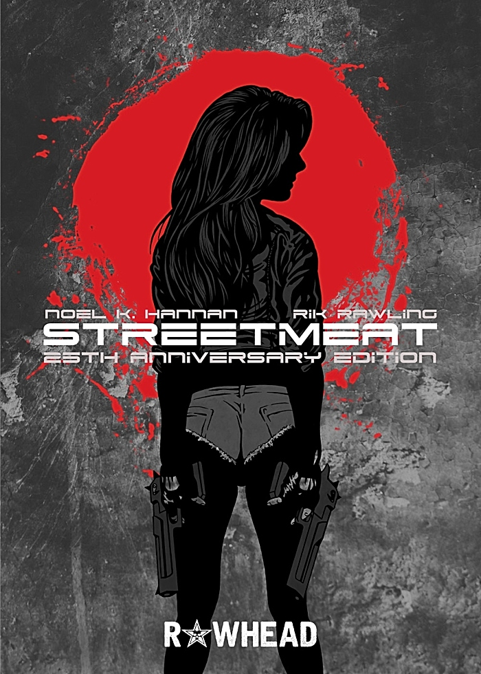 Noel hannan - Book cover - Streetmeat 25th Anniversary Edition (1)