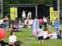 Pride in the Park held at Queens Park in Crewe