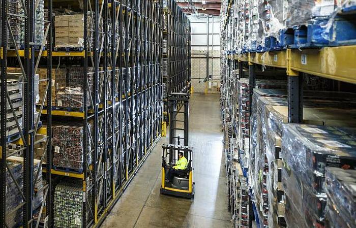 Boughey Distribution warehouse, BRC audit