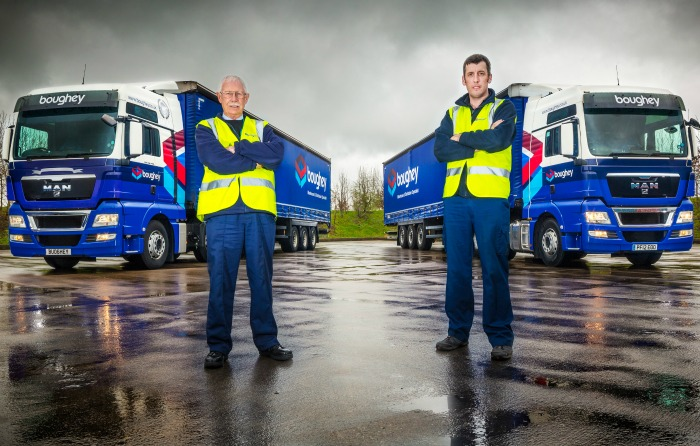 Boughey photo - trucks and drivers