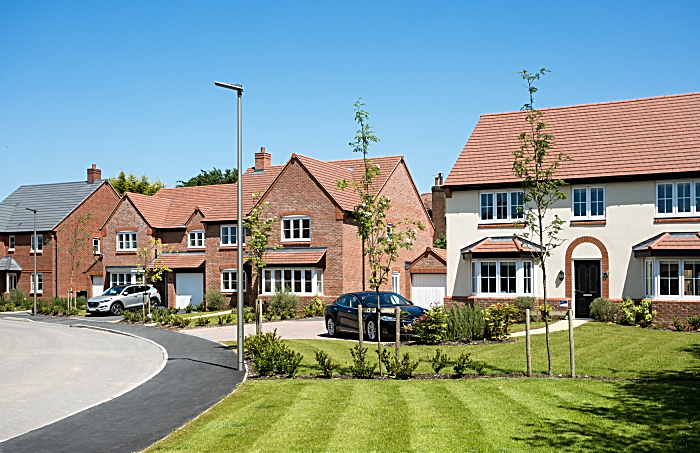 Bovis Homes and Home reach scheme in Nantwich