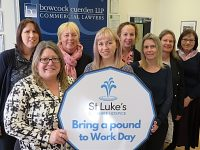 "St Luke's Hospice Cheshire to stage ""Bring a Pound to Work Day"""
