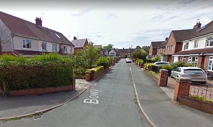Bowyer Avenue Nantwich, pic by Google Street Maps