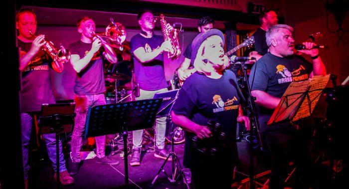 Brass Monkeys Nantwich Jazz Festival 2019