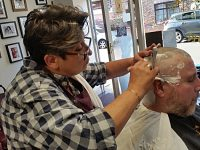 Nantwich man braves the shave for Macmillan Cancer Support