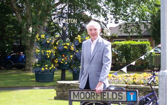 Brian Silvester at Moorfields in Willaston