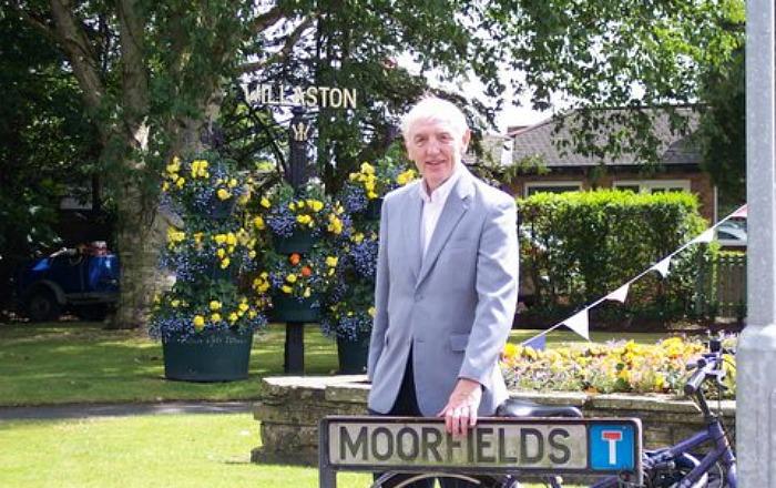 Brian Silvester at Moorfields in Willaston