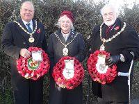Wellington Bomber crew remembered at Bridgemere service