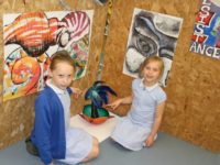 Art students from Brine Leas show off their talents