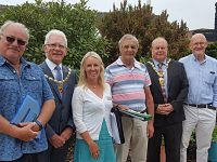 Britain in Bloom judges praise Nantwich during visit