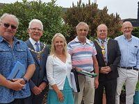 Britain in Bloom judges praise Nantwich during visit