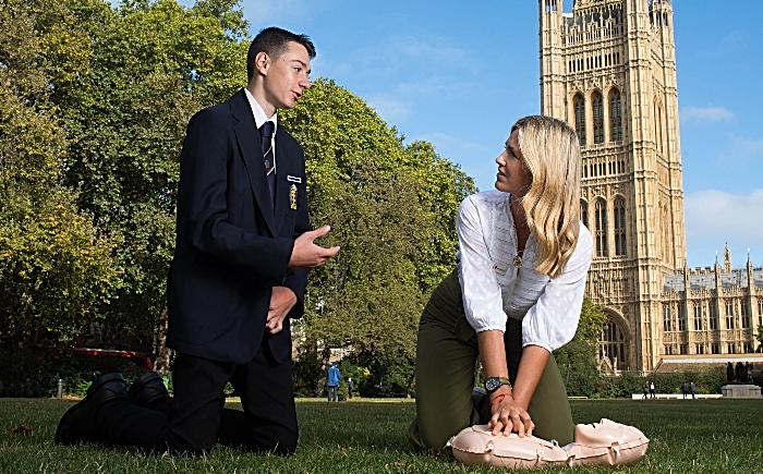 British Red Cross - life saving skills first aid state schools