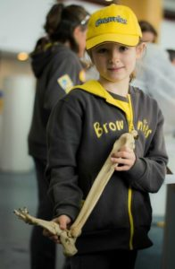 brownie-at-south-cheshire-college-science-event