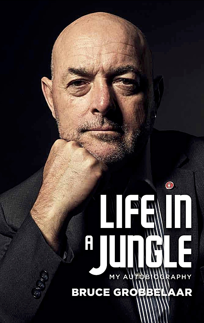 Bruce Grobbelaar - Life in a Jungle - book cover (1)