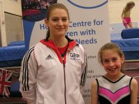 Olympic trampoline star Bryony to help Wingate Centre bounce-a-thon