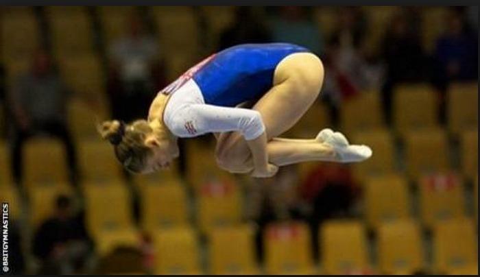 Trampoline champion Bryony Page - pic courtesy of British Gymnastics