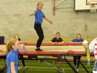 Olympics medal hero Bryony returns to Malbank School in Nantwich